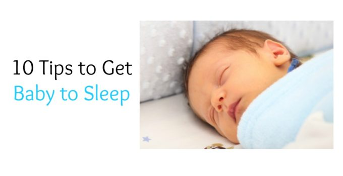 get baby to sleep tips