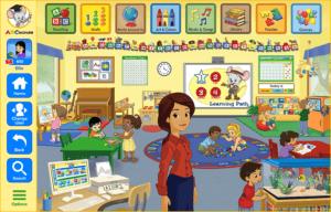 abcmouse kindergarten classroom