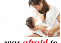 confessions from a mom afraid of breastfeeding again