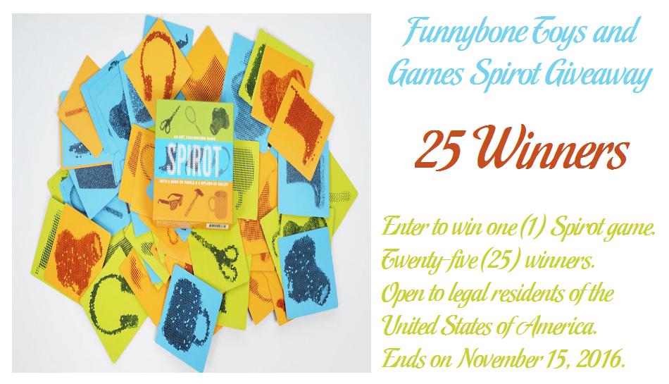spirot game giveaway