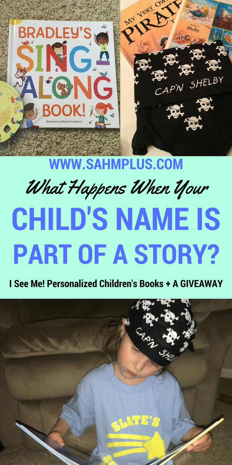 Increased engagement with I See Me! Personalized Children's Books. Plus, a giveaway to win your very own I See Me! Personalized Gift Set