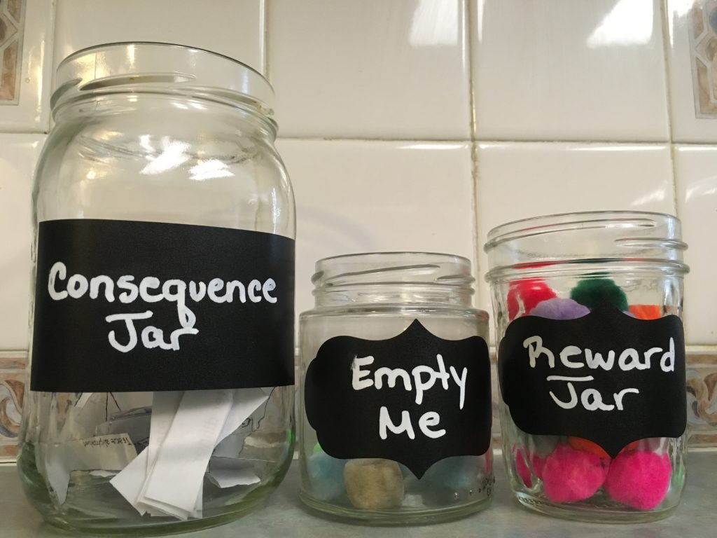 improve behavior consequence reward jars and parent as a team effectively
