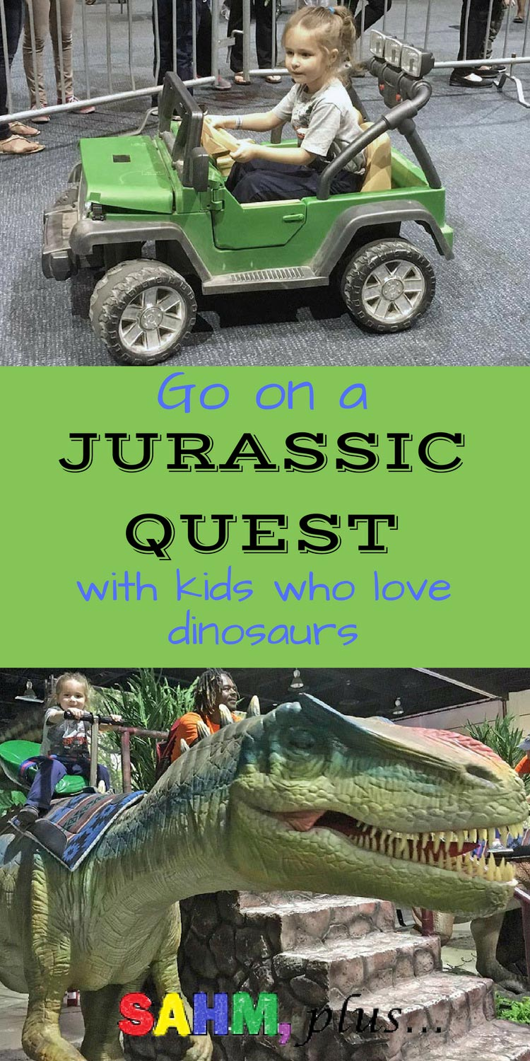 How I took my dinosaur loving children on a Jurassic Quest in Jacksonville, FL. Should you go on a Jurassic Quest with your kids?