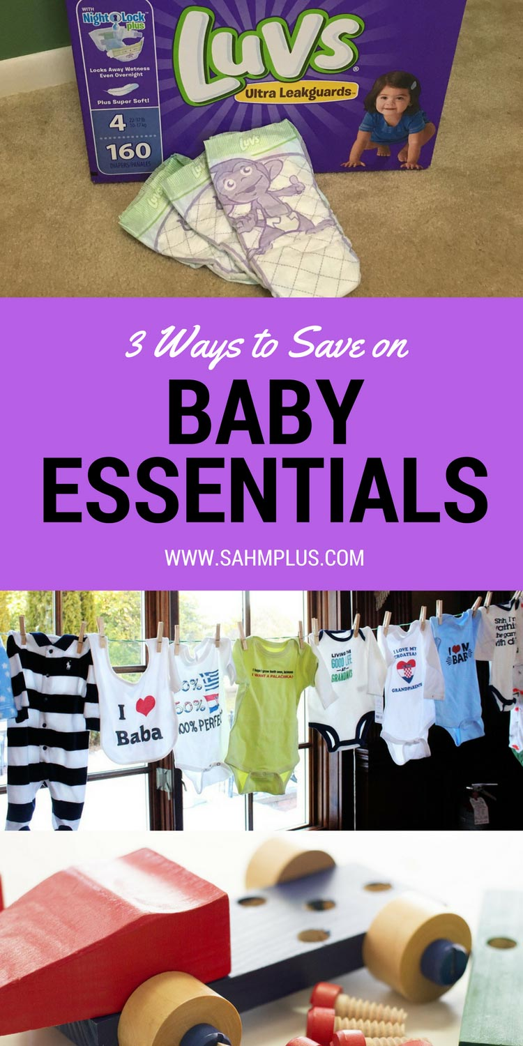 Babies are expensive. Save money on some of these baby essentials with these suggestions. Plus, a $1 off coupon for Luvs #SharetheLuv #ad
