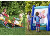 Create a dreamy summer play space with these awesome outdoor toys! www.sahmplus.com