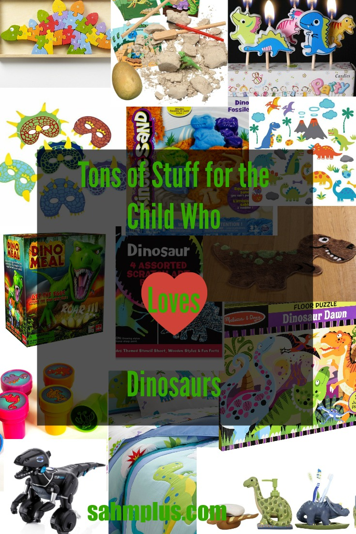 child loves dinosaurs