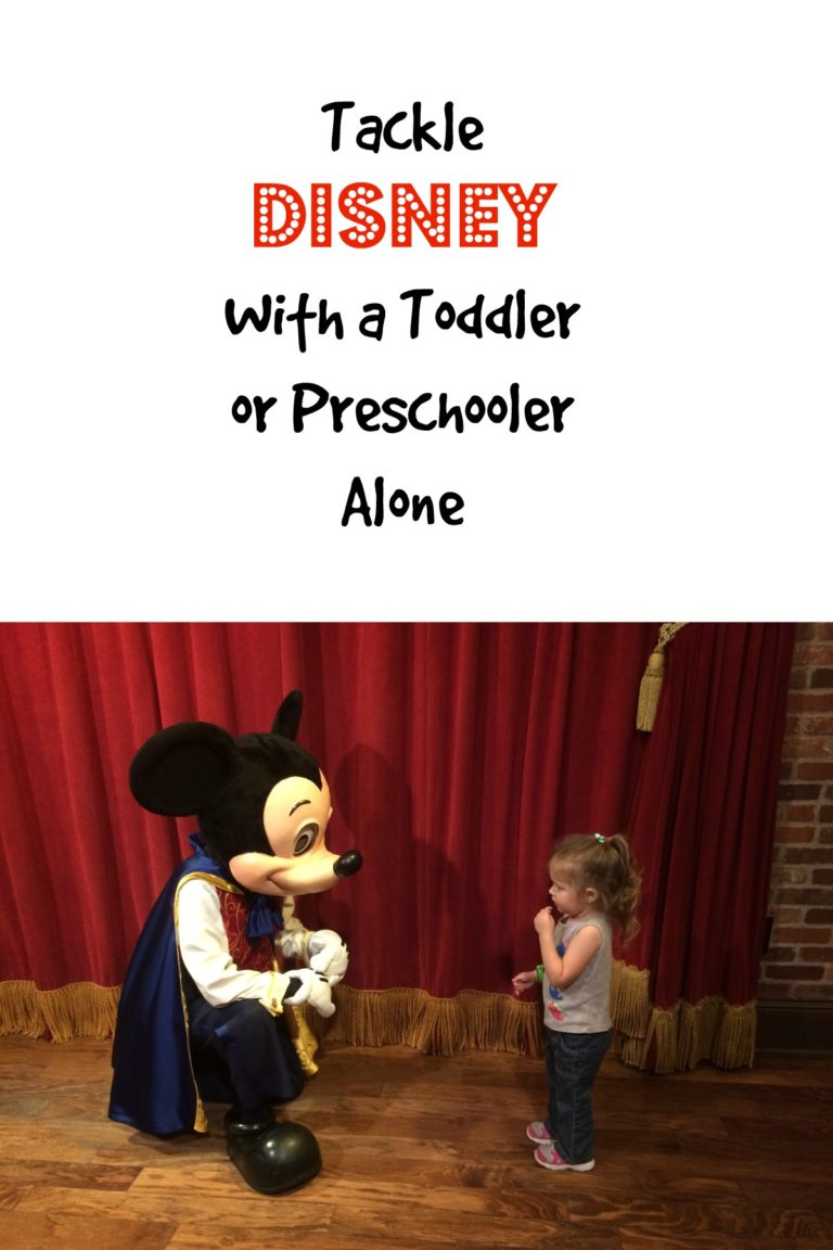 Disney with a Toddler