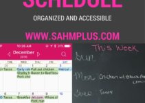 Best way to organize your family schedule