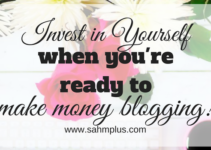 Ready to make money blogging and rock sponsored posts? There's never a better time than now to invest in yourself and your blog!