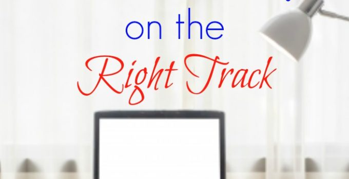 new wordpress blog on the right track