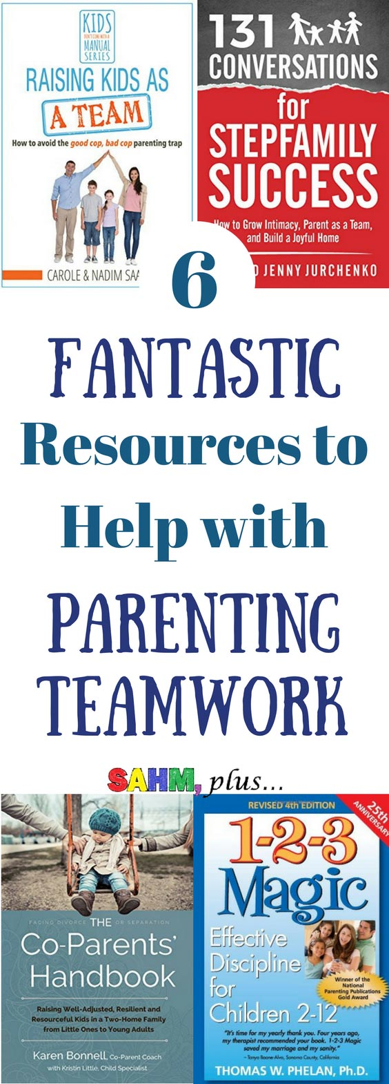 Struggling with parenting as a team? Check out these 6 amazing resources to help you parent as a team, regardless of your family dynamics