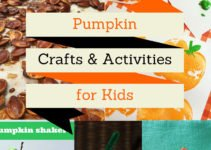 Fun pumpkin crafts and activities for kids, perfect for Fall