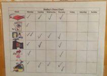 toddler chore chart dry erase